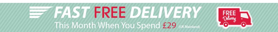 FREE UK Delivery when you spend �29