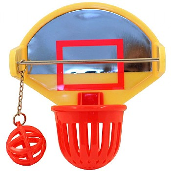 JW Birdie Basket Ball Activity Bird Toy