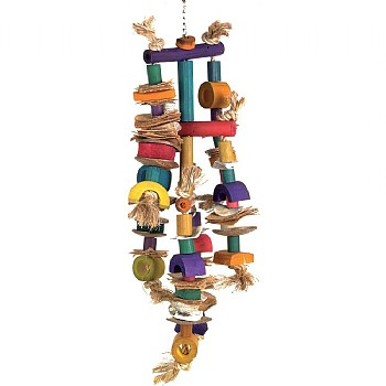 Giant Cluster Parrot Toy - Medium