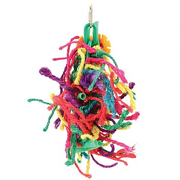 Northern Parrots Knotty Rope Climber Parrot Toy