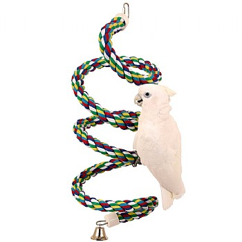 Parrot Boing - Cotton Spiral Bouncing Perch - XLarge