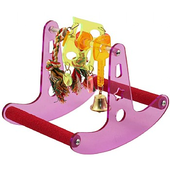 Northern Parrots Seesaw Play Rocker Parrot Stand