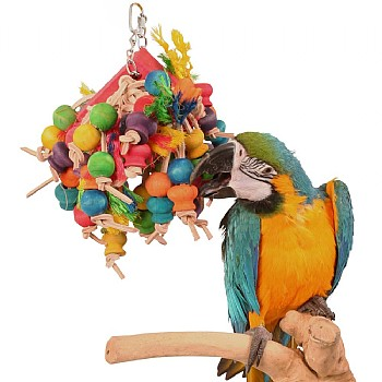 Northern Parrots Stuffed Slice Hanging Parrot Toy