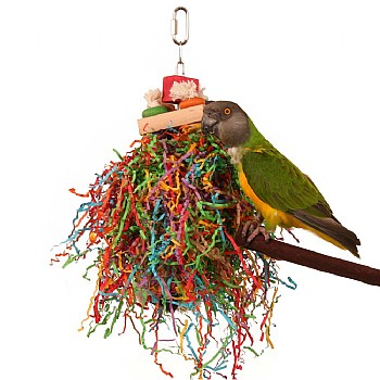 Northern Parrots Shredding Stack Parrot Toy