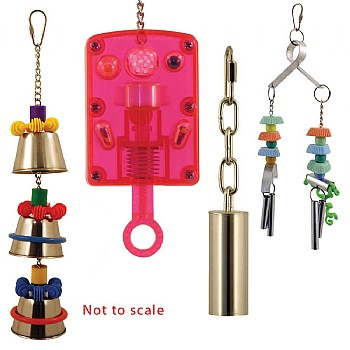 Assorted Brands Noise Making Parrot Toys Kit