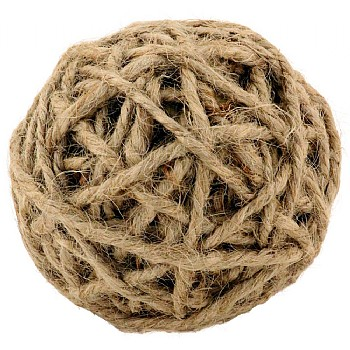 Northern Parrots Jute Rope Ball Parrot Foot Toy - Medium