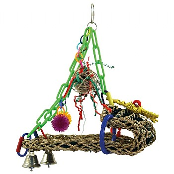 Sleigh Ride Parrot Toy