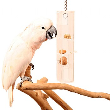 Hanging Puzzle Tower Parrot Toy - Large