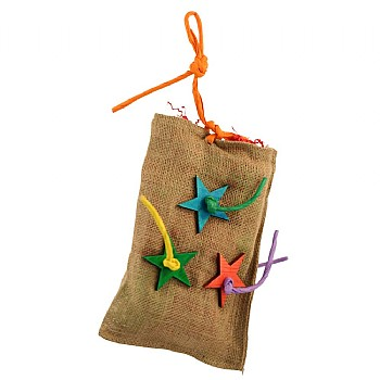 Foraging Surprise Bag Parrot Toy - Large