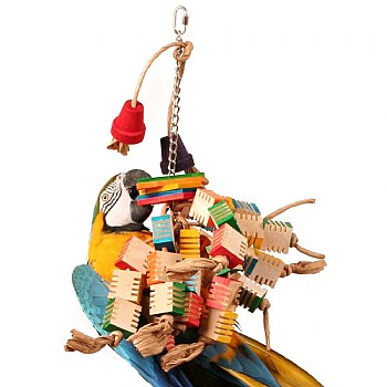 Zoo Max Groovy Tree Parrot Toy