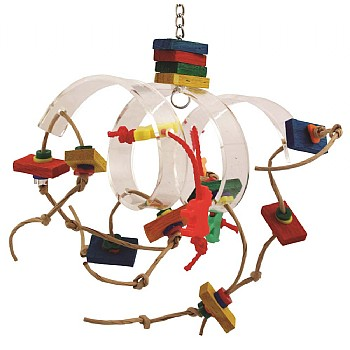 Zoo Max Tornado Parrot Toy
