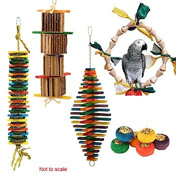 Zoo-Max Parrot Toy Kit