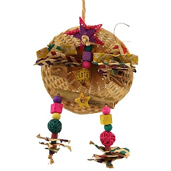 Jamboree Party Hat Parrot Toy