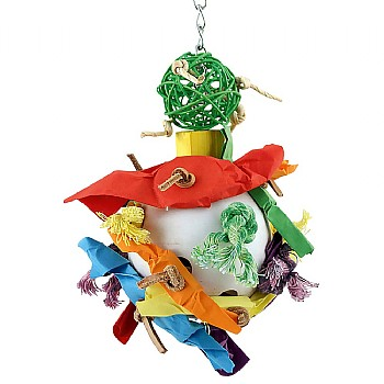 Candy Crunch Ball Parrot Toy - Large