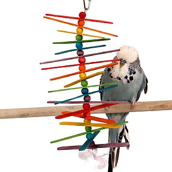 Popsicle Sticks Parrot Toy