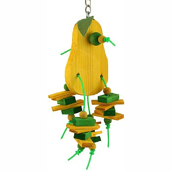 Pear Chewable Parrot Toy