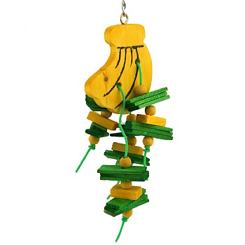 Banana Chewable Parrot Toy