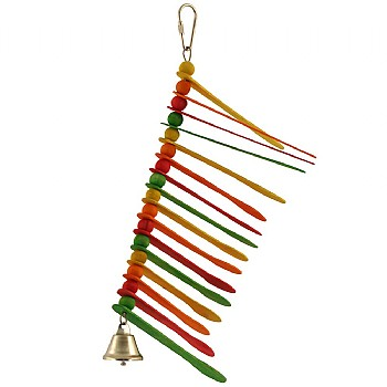 Whirly Bird Parrot Toy