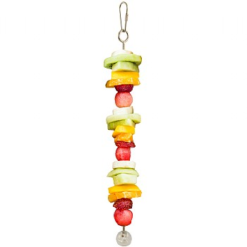 Working Lunch Skewer Foraging Parrot Toy - Small