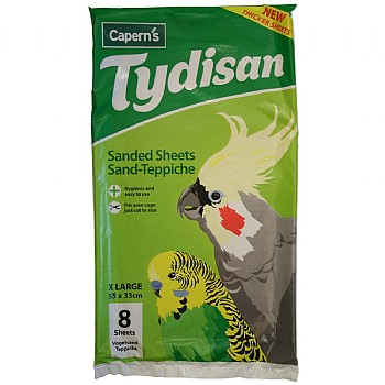Tydisan Sanded Sheets XL Green 55 x 33cm (22 x 13