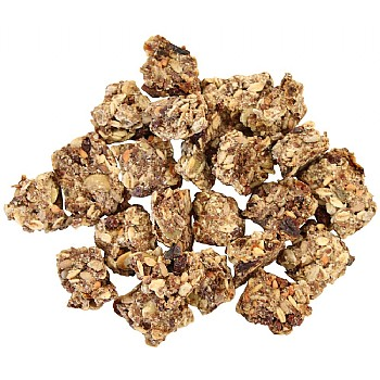 Parrot Café Flaxseed & Oatmeal Crunchies Parrot Treats - 75g