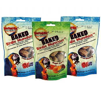 Oven Fresh Birdie Munchies Parrot Treat Pack