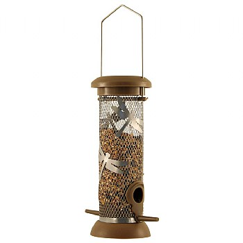 Funky Wild Bird Seed Feeder - Choice of 2 Colours