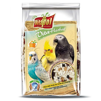 Vitapol Instant Rice & Fruit for Birds and Parrots - 130g