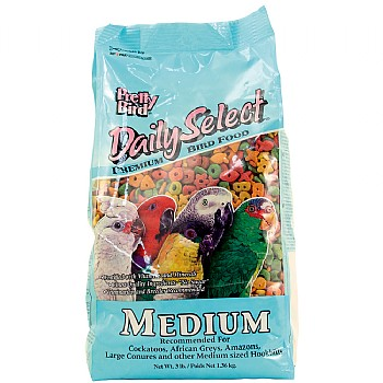 Pretty Bird Pretty Bird Daily Select Medium Complete Parrot Food