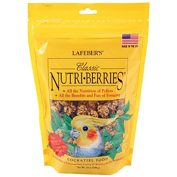 Lafeber NutriBerries Original Complete Cockatiel Food