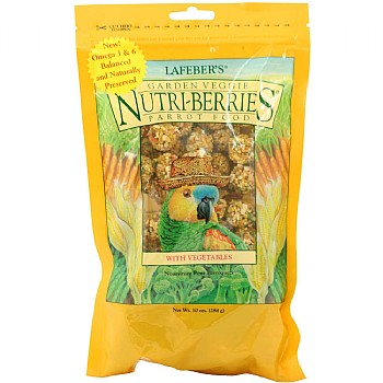 Lafeber NutriBerries Lafeber NutriBerries Garden Veggie Complete Parrot Food