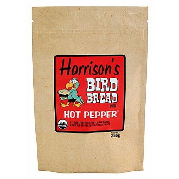 Harrison`s Bird Bread Mix Hot Pepper - Organic Parrot Treat
