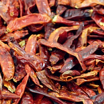 Tidymix Dried Chillies - 100g - Vitamin A Parrot Treat