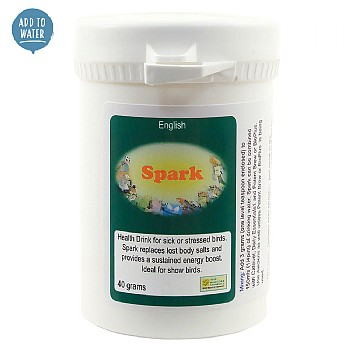 Spark Tonic - 40g - Energy Boosting Bird Supplement