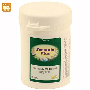 Formula Plus - Hand Rearing Food Additive