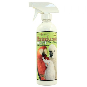 Kings Cages Rainforest Mist for Cockatoos & Macaws - 17oz