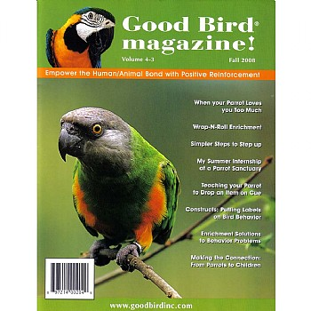 Good Bird Magazine - Volume 4 Issue 3 - Fall 2008