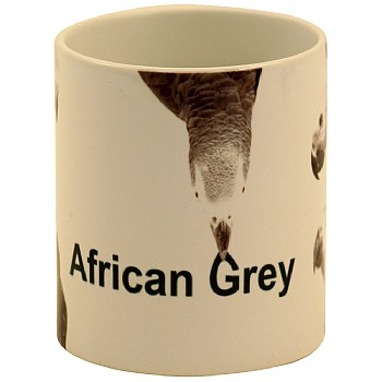 Northern Parrots African Grey Parrots Mug - 5 Greys