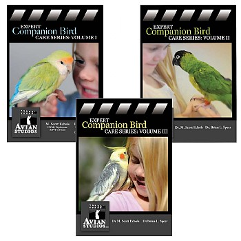 Expert Parrot Care Series - Set of 3 DVDs