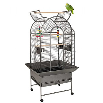 Cortes Top Opening Parrot Cage - Antique