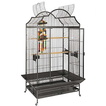Enterprise Large Top Opening Parrot Cage - Antique