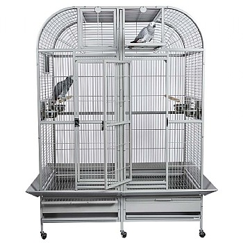Rainforest Cages Castello 1 - Medium Parrot Cage with Divider