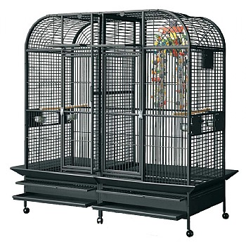 Castello 2 Large Parrot Cage with Divider
