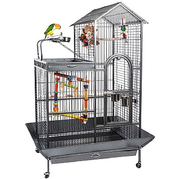 Angel Parrot Cage with Play Gym Top