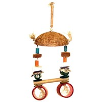Maggie`s Ocean Swinger Natural Parrot Toy - Medium