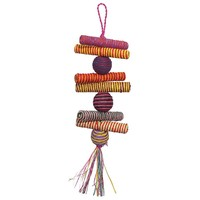 Woven Wonders Sticks and Stones Shreddable Parrot Toy