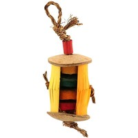 Hula Skirt Handmade Chew Toy for Parrots - Medium