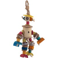 Bamboo Man Fun Natural Chew Toy for Parrots - Small