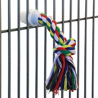 Cotton Rope Preening Parrot Toy - Small