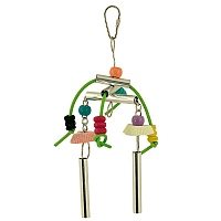 Calcium Crunch Windchime Chewable Parrot Toy